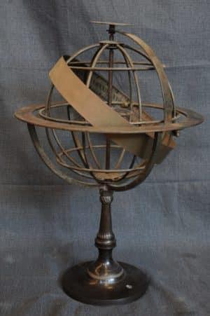 Antiquariato Monte – vendita mappamondi antichi Mappamondo Astrolabe - Vendita mappamondo stile antico