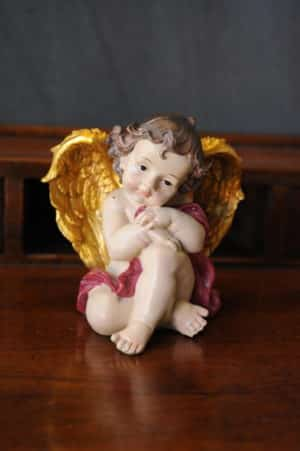 Angelo Elegance - Statuetta d'angelo in Resina - Statue di angeli