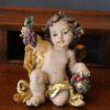 Statuetta d'angelo in Resina - Angelo Antique - Statue di angeli