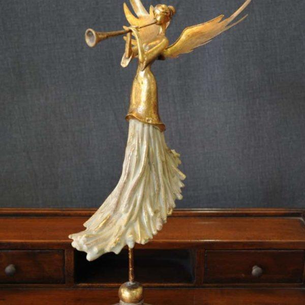 Statuetta d'angelo in Resina - Donna Angelo - Statue di angeli