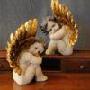 Oggetti di antiquariato pagina 1 - Angelo Nude - Statuetta d'angelo in Resina - Statue di angeli