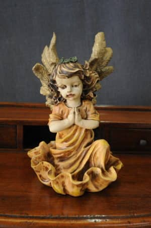 Statuetta d'angelo in Resina - Angelo Ancient - Statue di angeli