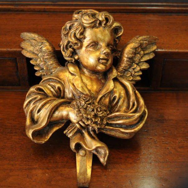 Statuetta d'angelo in Resina - Angelo attaccapanni - Statue di angeli