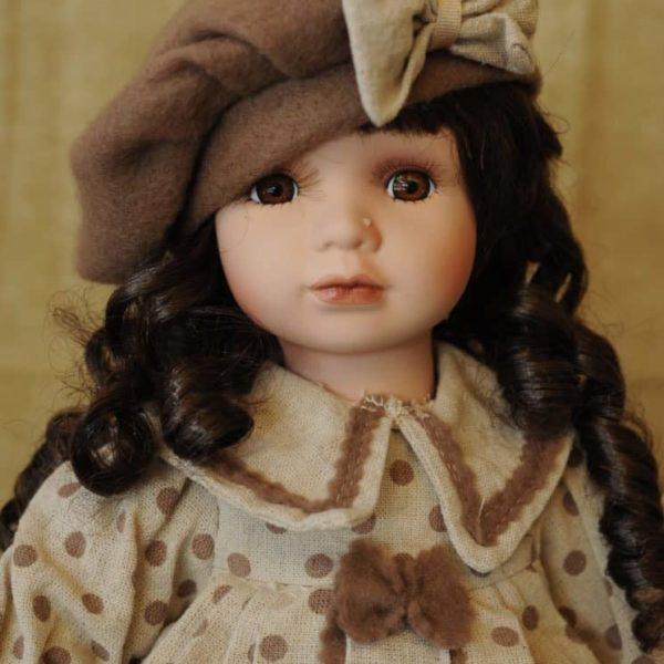 Vendita bambole in ceramica - Bambola Tamika - Bambole da collezione - Bambole in porcellana