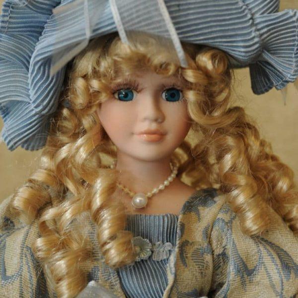 Vendita bambole in ceramica - Bambola francoise - Bambole da collezione - Bambole in porcellana