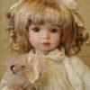 Vendita bambole in ceramica - Bambola Kady Bambole da collezione - Bambole in porcellana