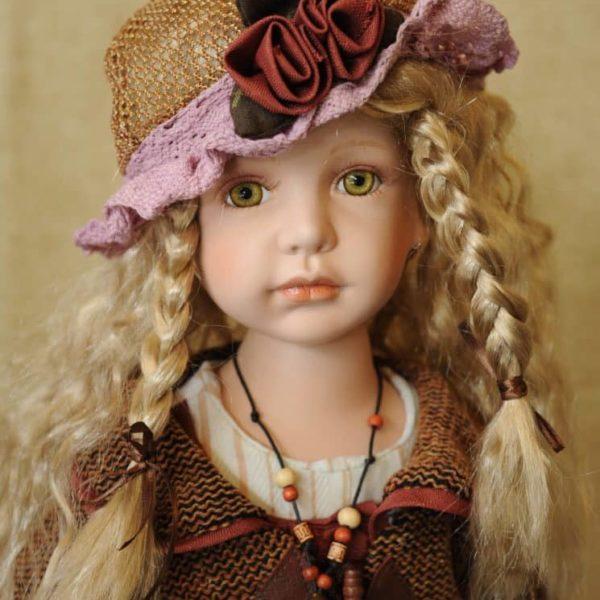 Vendita bambole in ceramica - Bambola Lilja - Bambole da collezione - Bambole in porcellana