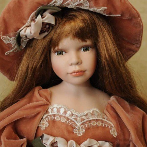 Vendita bambole in ceramica - Bambola Madeleine - Bambole da collezione - Bambole in porcellana
