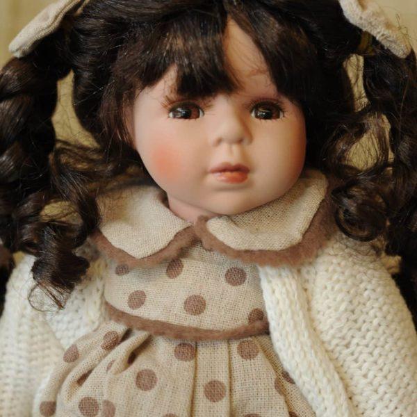 Vendita bambole in ceramica - Bambola Siona - Bambole da collezione - Bambole in porcellana